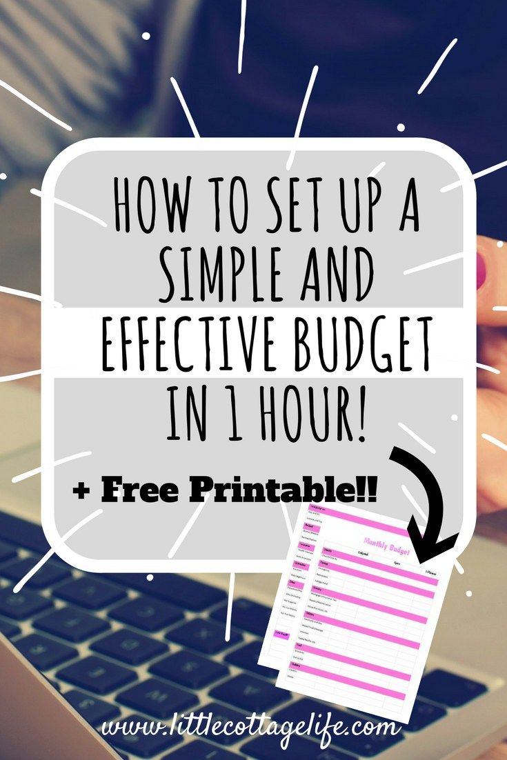 How To Set Up An Effective And Simple Budget In  Hour  Budgeting