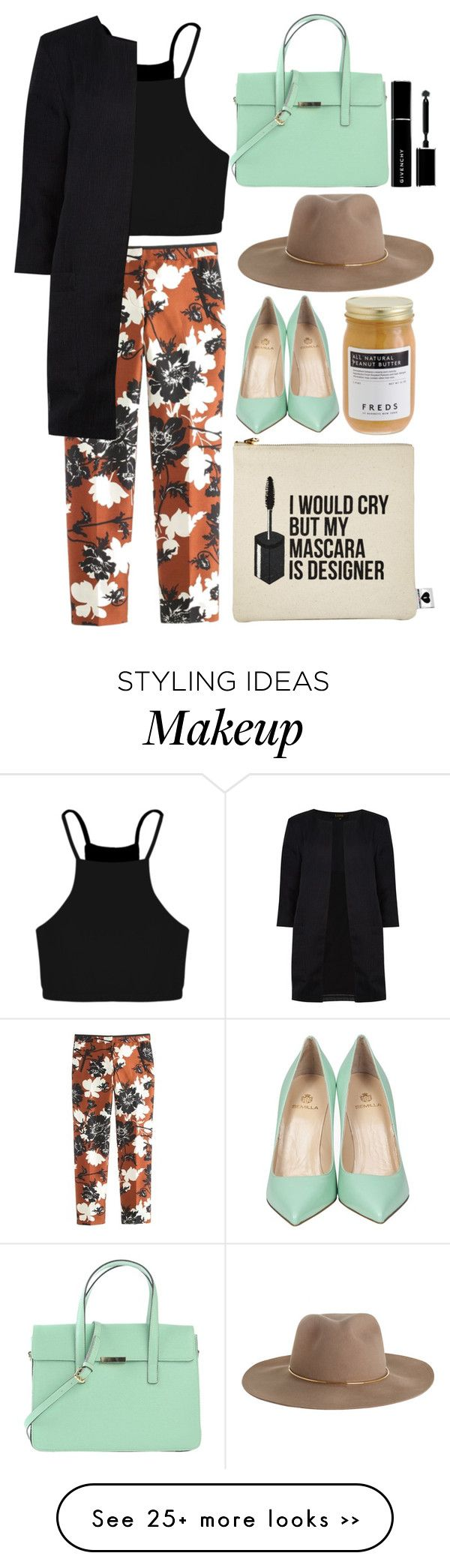 """I put a spell on you because you're mine"" by eclectic-chic on Polyvore featuring Boohoo, Semilla, Sephora Collection, Zimmermann, J.Crew, Dorothy Perkins, FREDS at Barneys New York, Givenchy and dusterjacket"