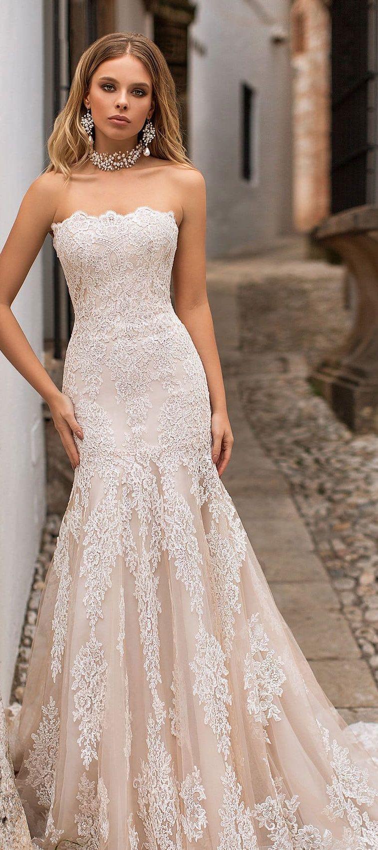 Naviblue Bridal 2018 Wedding Dresses - Dolly Bridal Collection #weddingdress #weddinggown #brideddress #bridalgown #weddingdresses