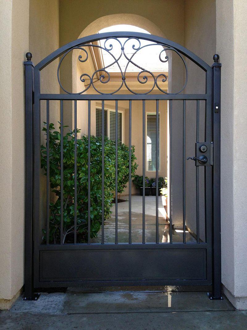 Custom Courtyard Entry Gates El Dorado Hills, CA - Vintage ...