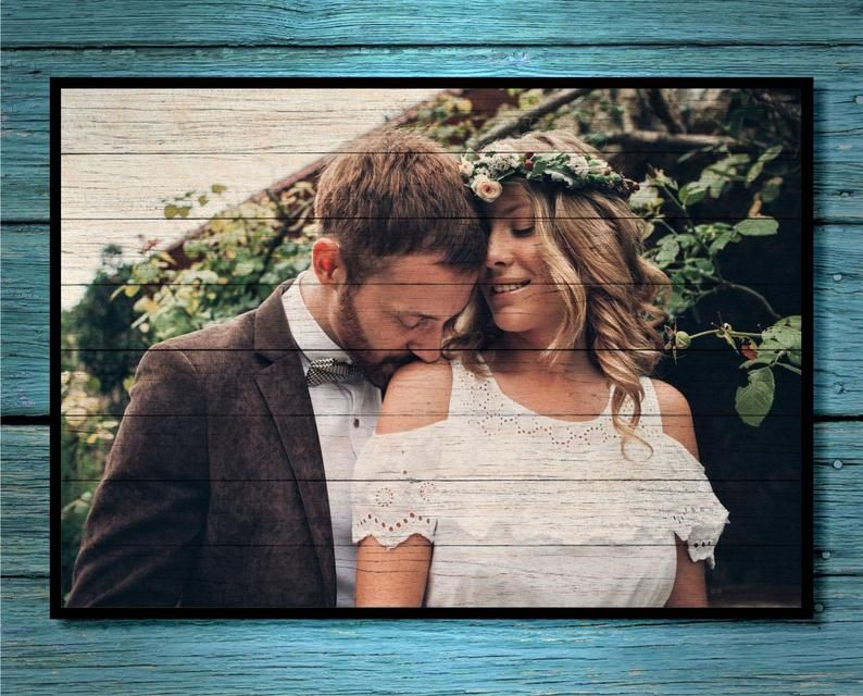 Christmas Gift for Boyfriend Gifts for Men Gifts Photo on Wood Print Personalized Picture Frame for Boyfriend Christmas Gifts for Girlfriend #christmasgiftsforboyfriend