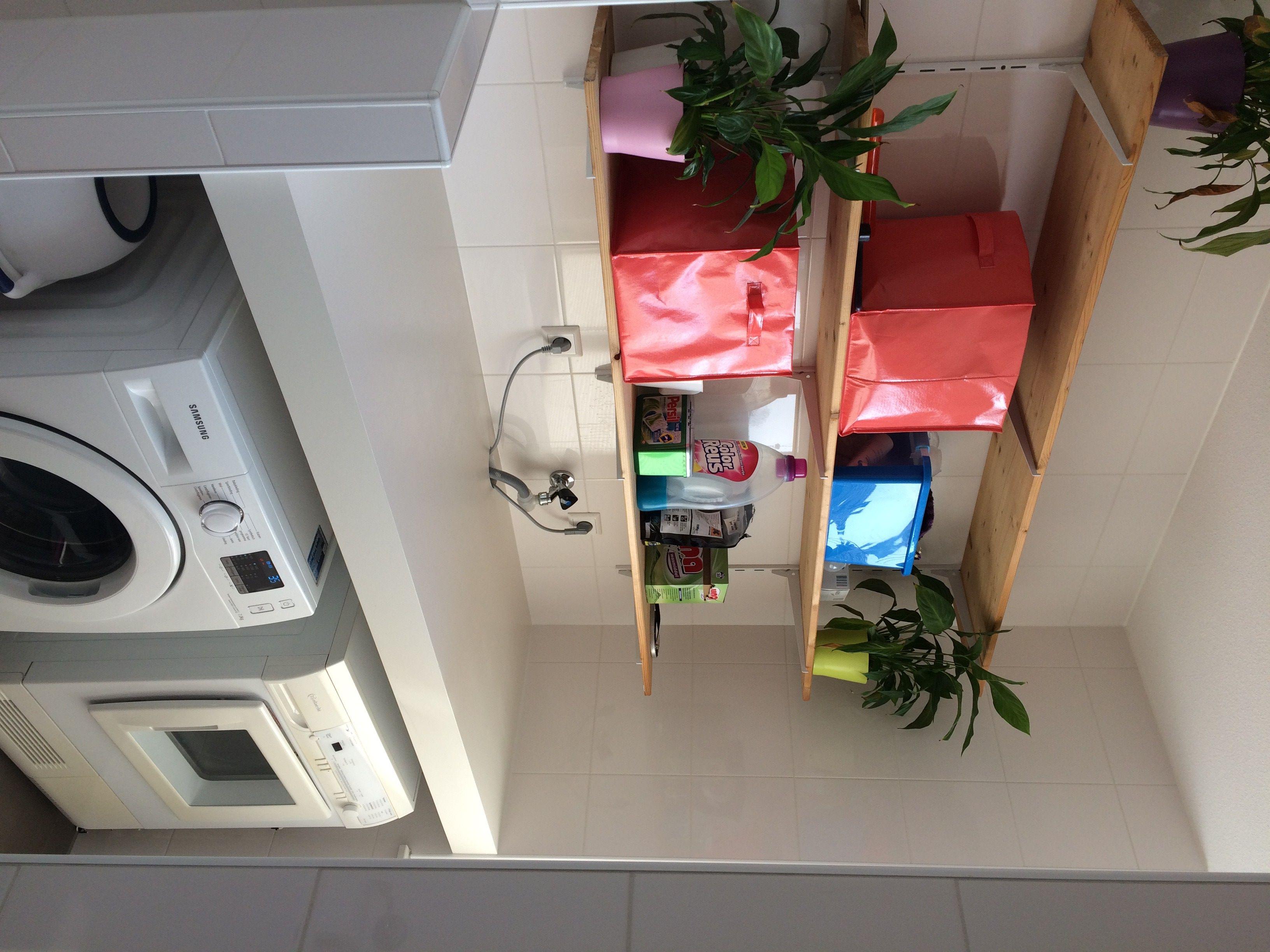 plank boven wasmachine in badkamer badkamer pinterest plank
