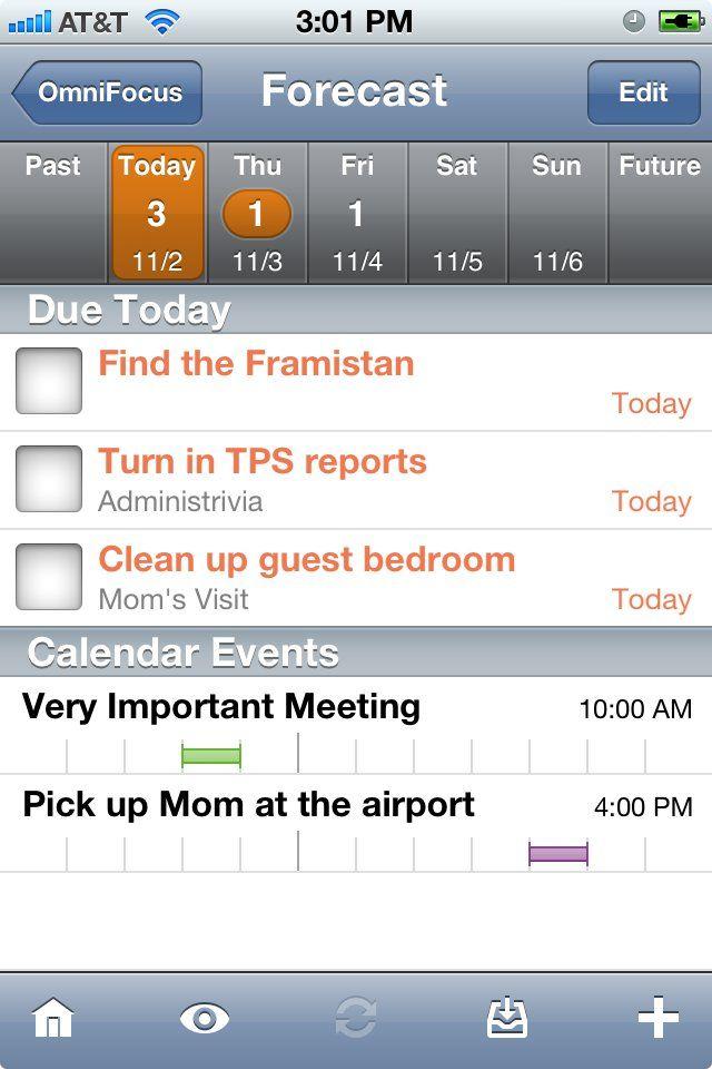 Omnifocus For Iphone Brings Powerful Task Management