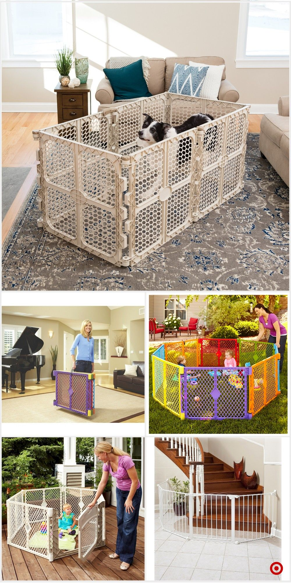 Shop Target For Freestanding Gates You Will Love At Great