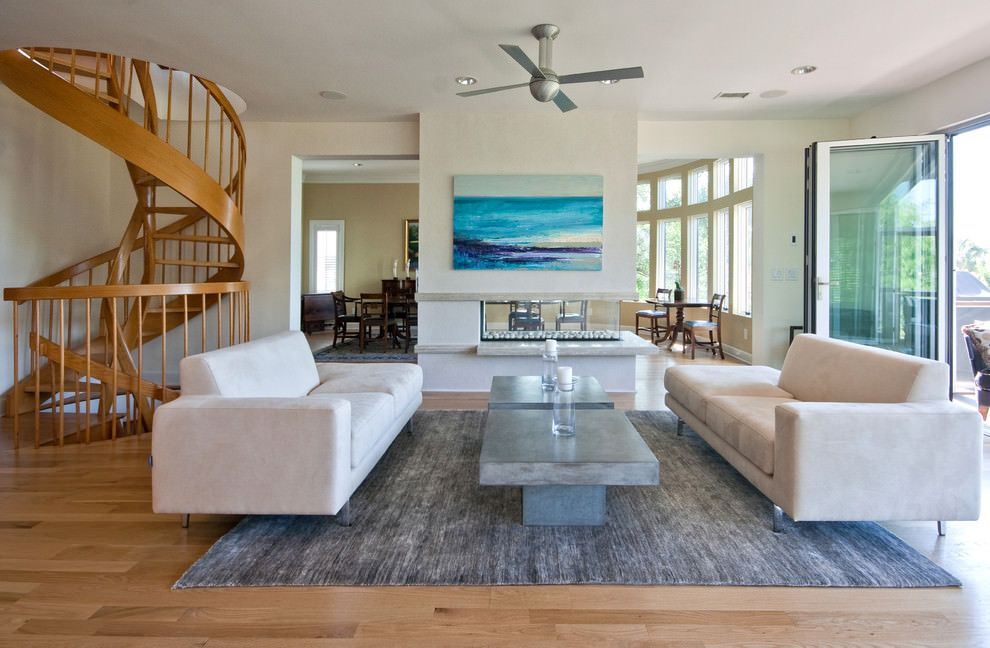 Love The Coffee Table Painting And Rug Modern Island Beach Home Living Room Tropical Charleston By Sea Builders Llc