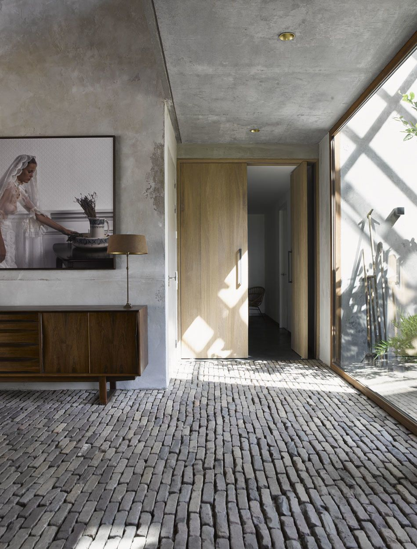 Inside Out Interiors Style Sunday: Geert Kollau, Art, Palissander Wood, Vintage Desk, Clinker