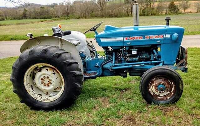 Ford 3000 Tractors Ford Tractors Old Tractors