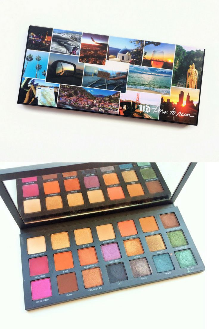 Urban Decay Burn To Run Palette Review and Swatches