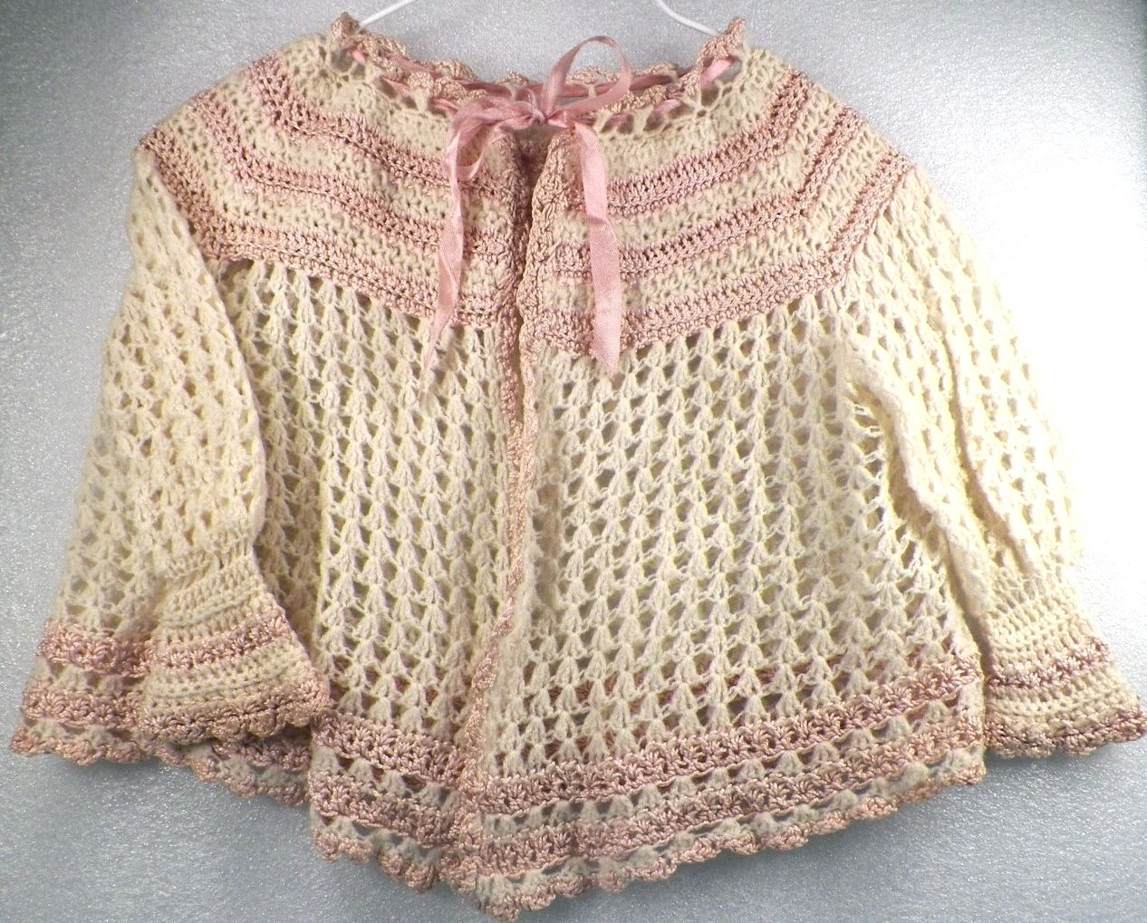 antique wool baby sweater ... ca. 1915 | p o p p e t s | Pinterest ...