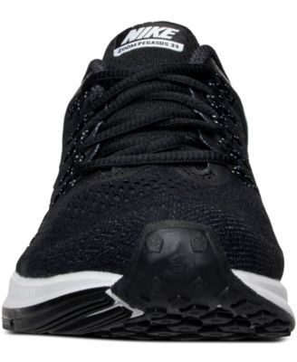 94ef90160a3ef Nike Women s Air Zoom Pegasus 33 Running Sneakers from Finish Line - Black  7.5