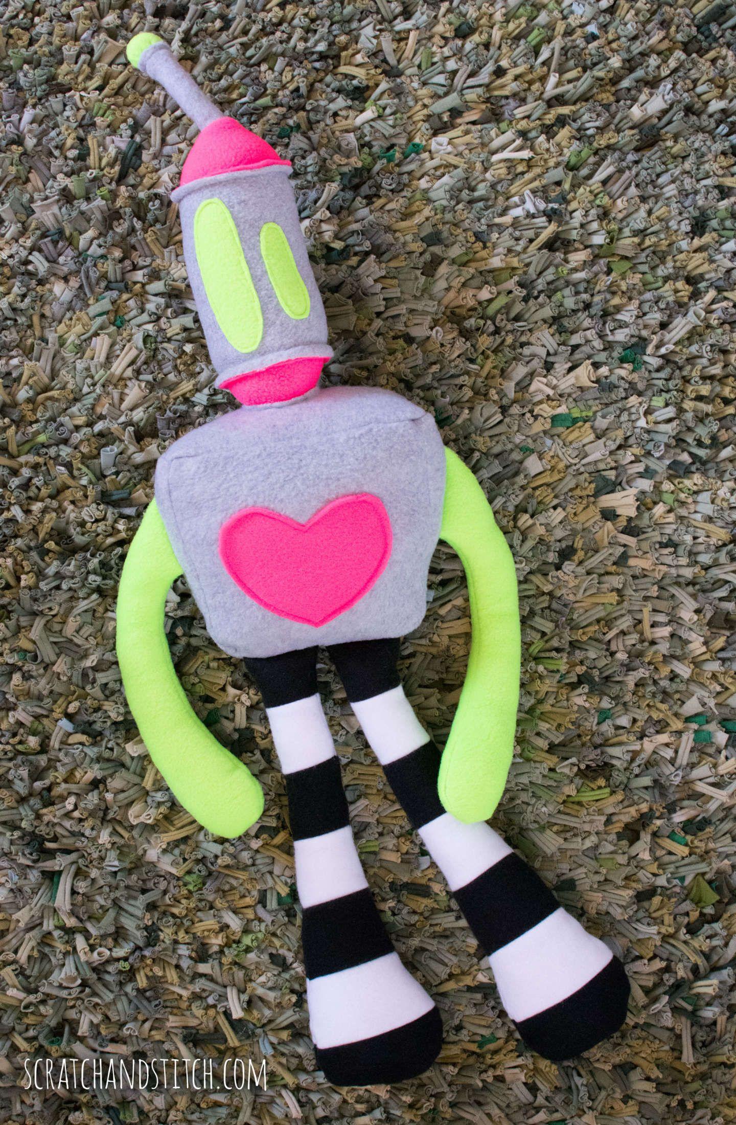 Free Stuffed Robot Pattern