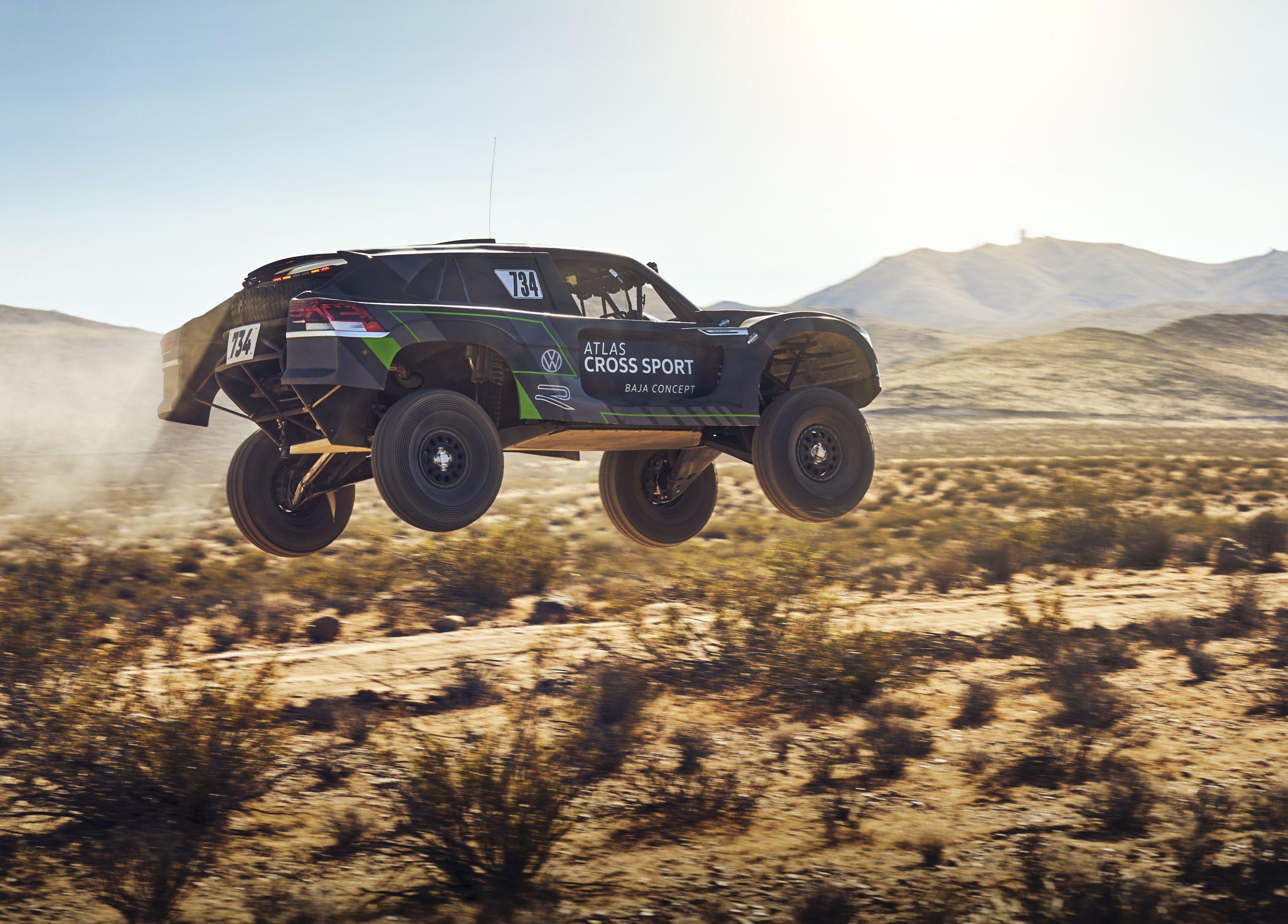 VW Atlas Cross Sport R debutará en la Baja 1000