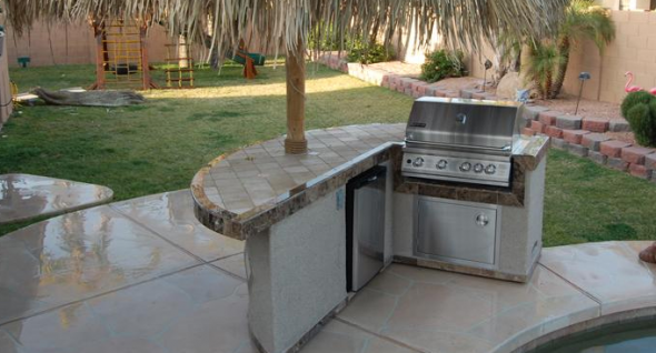 Landscaping With Bbq Islands Bbq Island Outdoor Island Outdoor Bbq