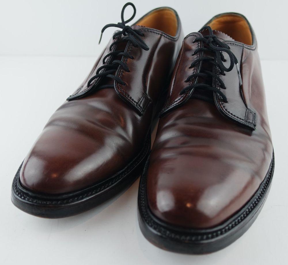 b161cb2aaf4c Florsheim Imperial SHELL CORDOVAN 93606 Plain Toe Blucher V CLEAT Shoes  11.5B  Florsheim  Oxfords  Formal