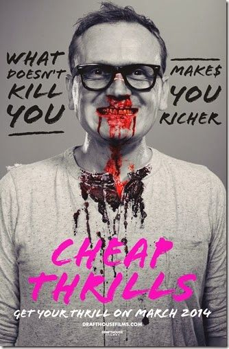 """Drafthouse Films Announces Release Date For """"Cheap Thrills"""