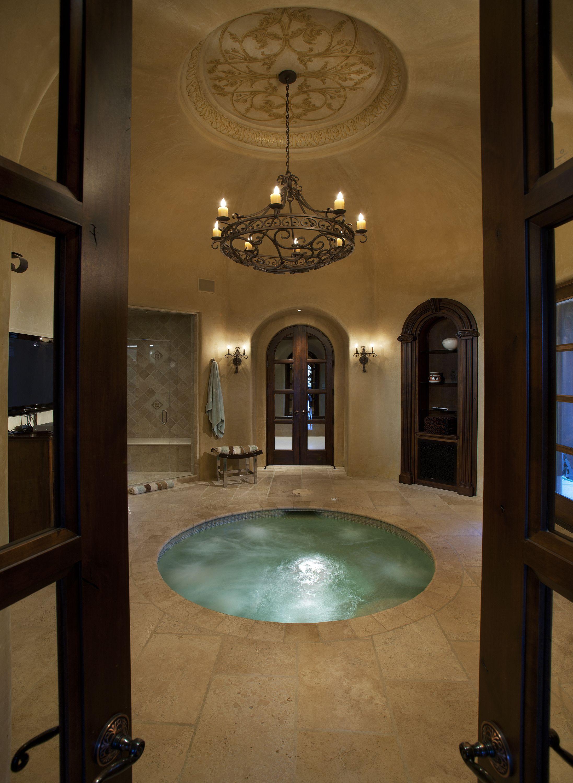 Pin By Jillian Gudim On Silverleaf Homes Style Indoor Hot Tub Fancy Bathroom Dream Bathrooms