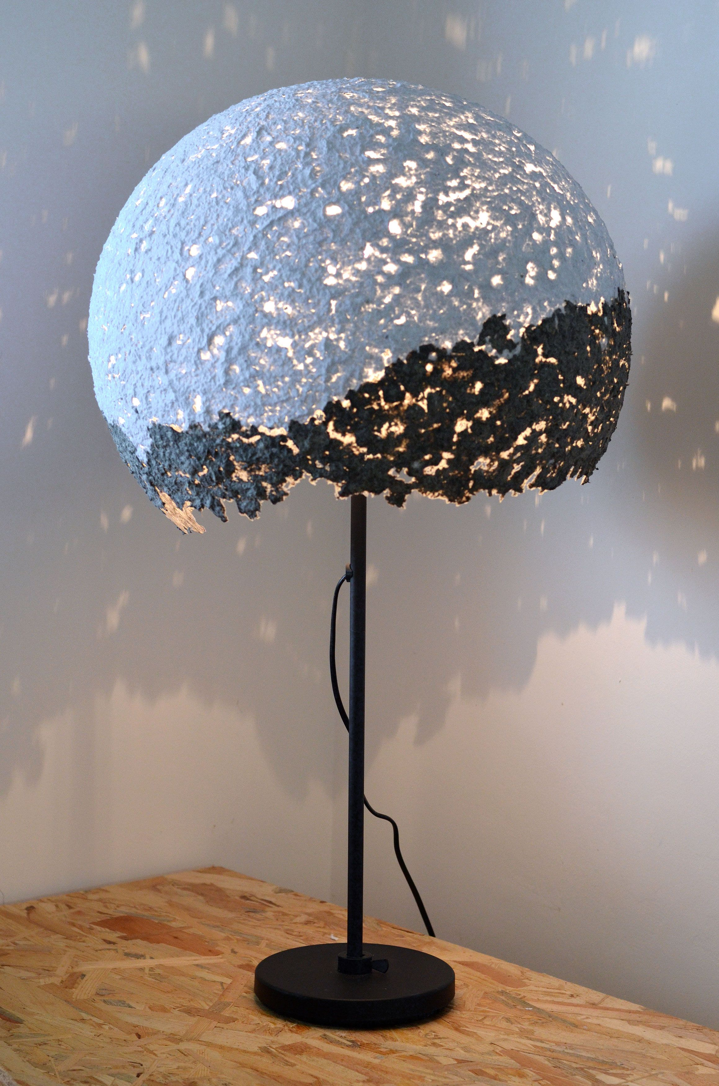 Handmade recycled paper lamps, by Eliza Laura (7 Lemps)   Let there ... for Recycled Paper Lamp  59nar
