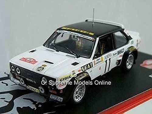 Fiat 131 Abarth 1978 Rally Car Model Servia Brustenga 1 43 Black