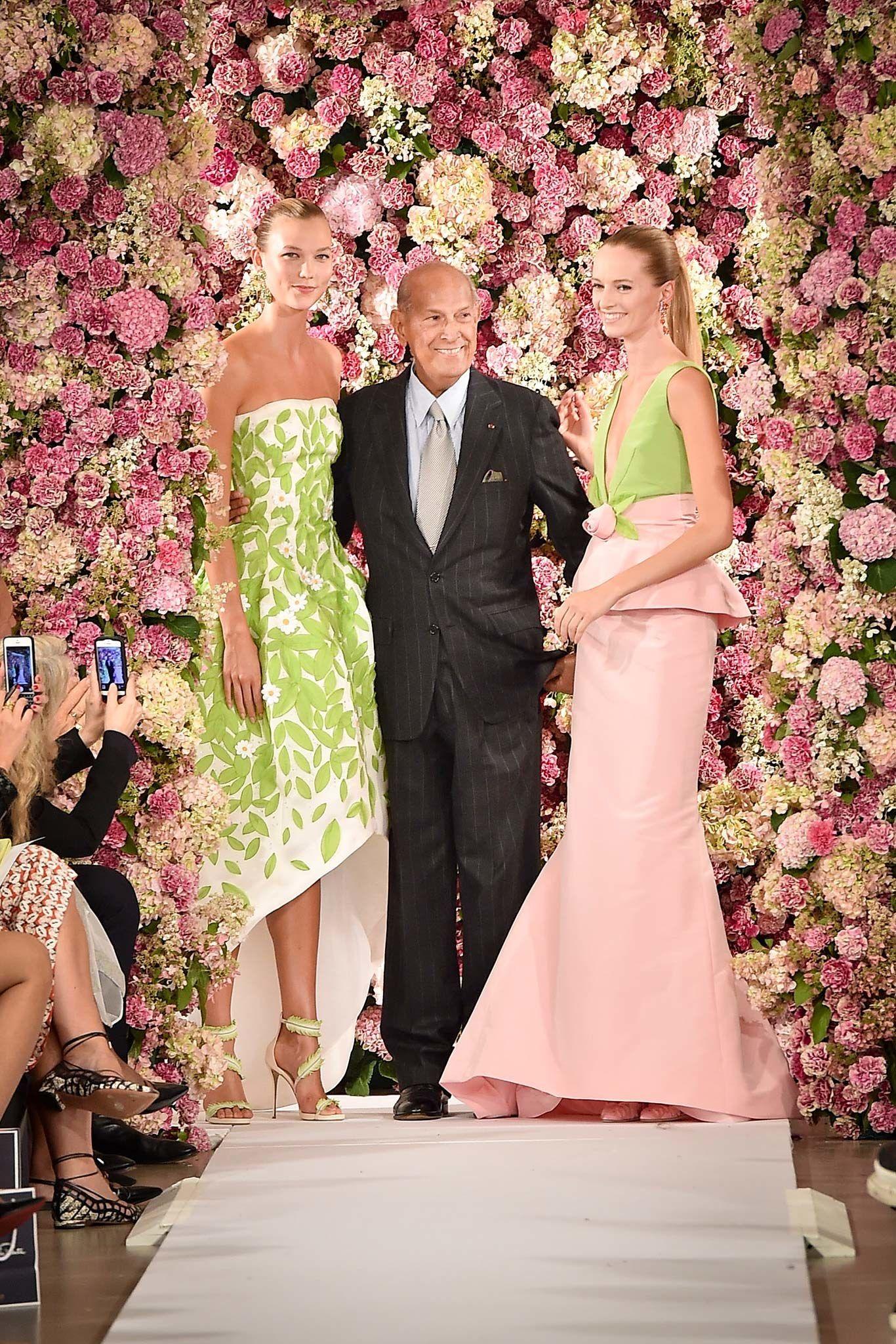 Oscar de la Renta Spring 2015 Ready-to-Wear Fashion Show - Oscar de la Renta