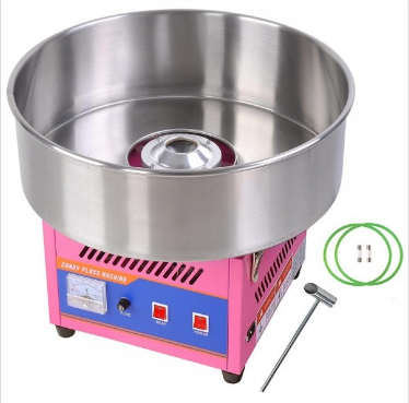 This Easy To Use Candy Floss Maker Allows You To Make Fairground Style Candy Floss In Minutes It Spins Sugar Int Candy Floss Cotton Candy Machine Candy Machine