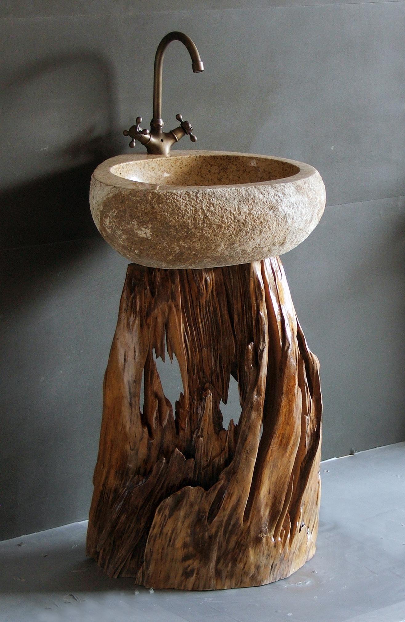 Pin de pilar calle en hostalito pinterest ba os for Bajo gabinete tocador bano de madera