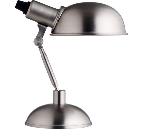 Buy Habitat Tommy Desk Lamp Silver At Argos Co Uk Your Online Shop For Table Lamps Lighting Home And Garden Desk Lamp Table Lamp Lamp