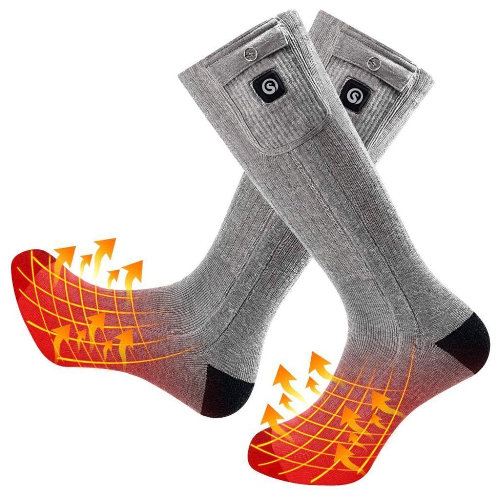 Upgraded Heated Socks 7 Gadgets Heated Socks Socks Foot Warmers