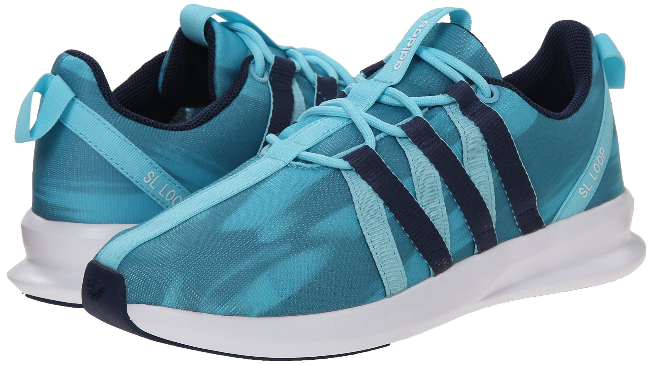 Womens Shoes adidas Originals SL Loop Racer W Clear Green/Dark Slate/White