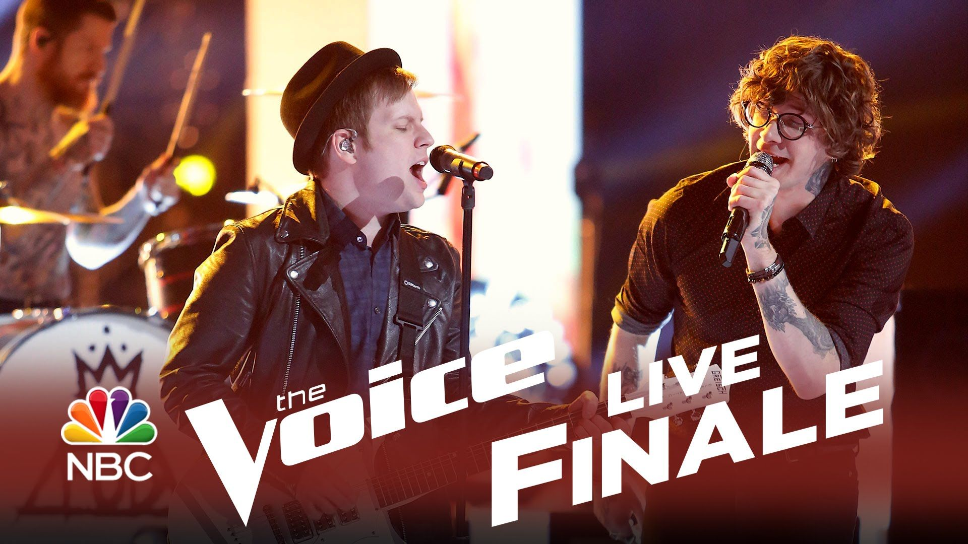 The voice 2014 finale matt mcandrew and fall out boy