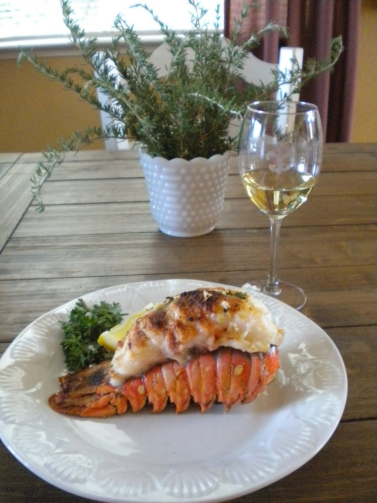 How to cook Lobster Tails. No bread crumbs tho