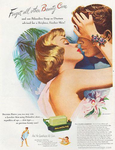Vintage Soap Ad - Palmolive