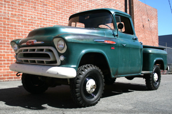 Tim Allen S 1957 Chevrolet Napco Truck For Sale 57 Chevy Trucks