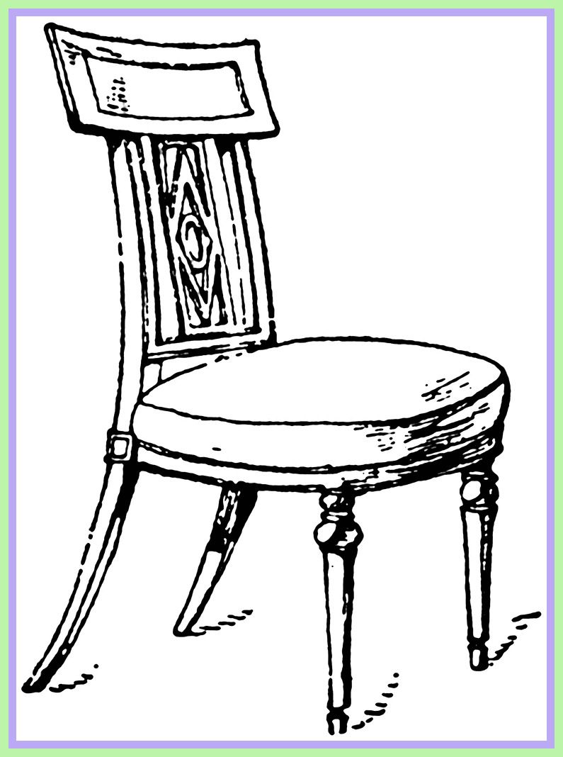 119 Reference Of Chair Black And White Clip Art In 2020 Chair Round Table And Chairs Childrens Desk And Chair