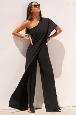 jumpsuit zwart gala