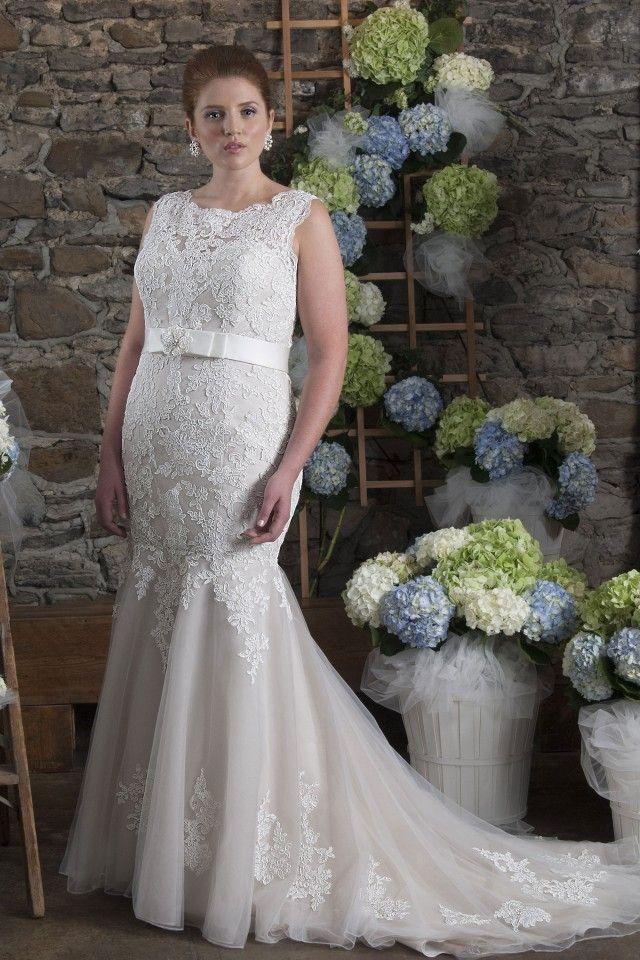 Wedding dress | Plus size wedding dress | Pinterest | Wedding dress ...