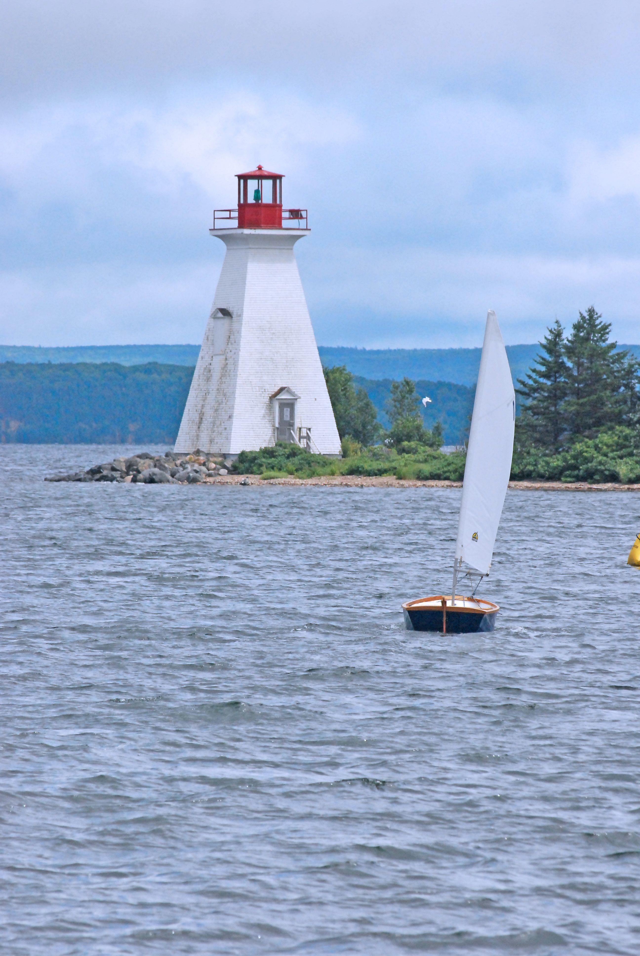 Baddeck Lighthouse, Nova Scotia