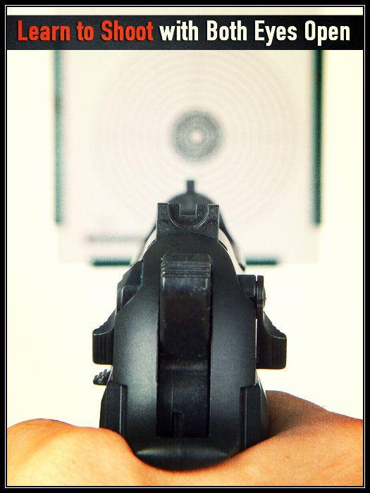 Shooting With Both Eyes Open - YouTube