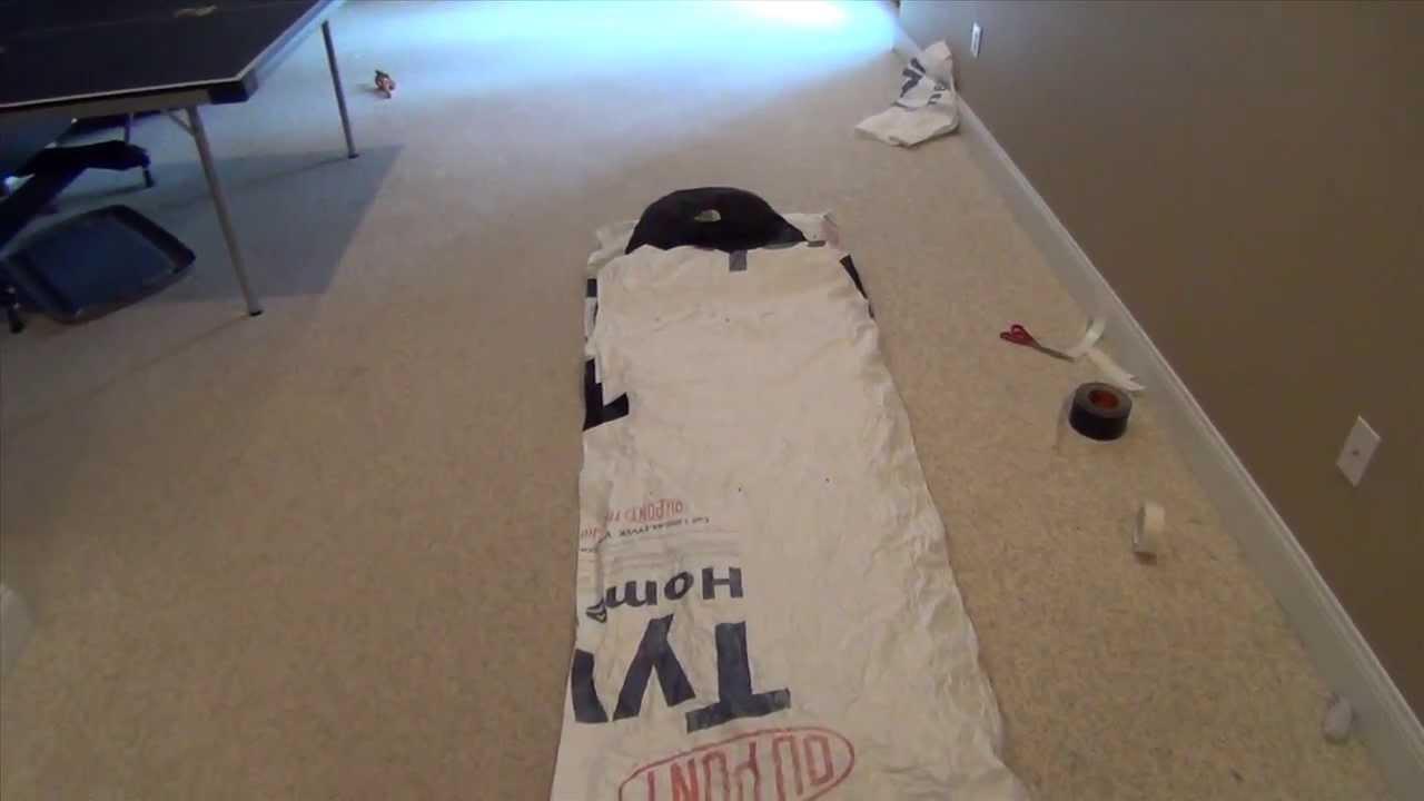Diy Survival Gear Tyvek Sleeping Bag Bivy In Tents Camping Survival Survival Gear Survival Shelter