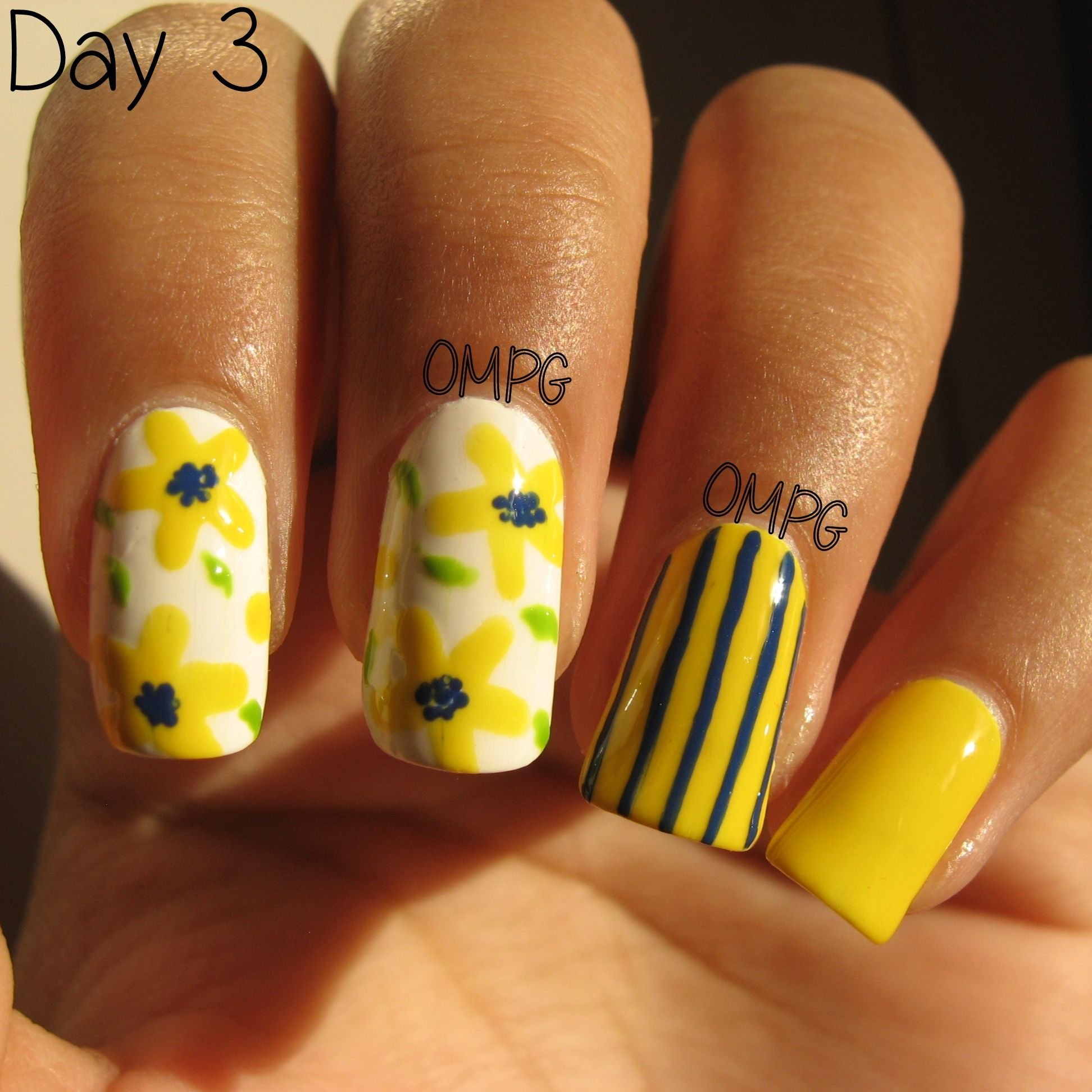 Hi there!! Here's my yellow theme! I used one of my favorite combinations: yellow and dark blue.. I love this one..