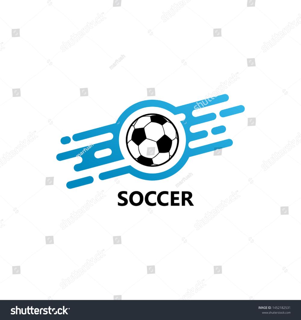 Digital Soccer Logo Template Design Vector Stock Vector Royalty Free 1452182531 In 2020 Soccer Logo Logo Design Identity Logo