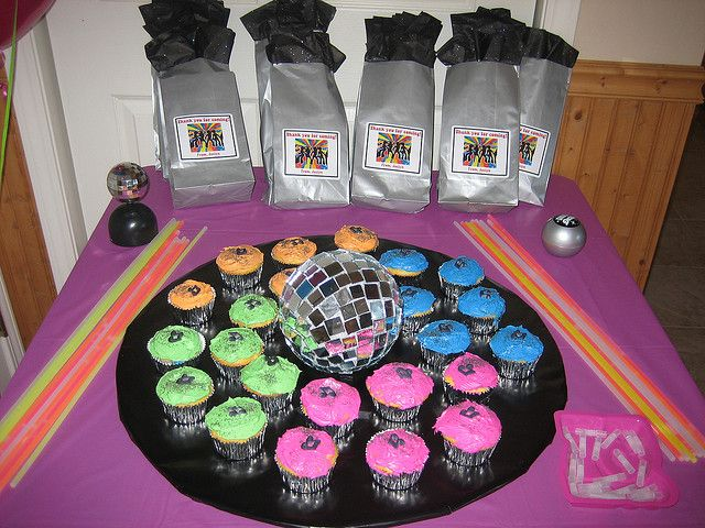 Disco Dance Party Favors Cake   Emory   Disco party, 1970s
