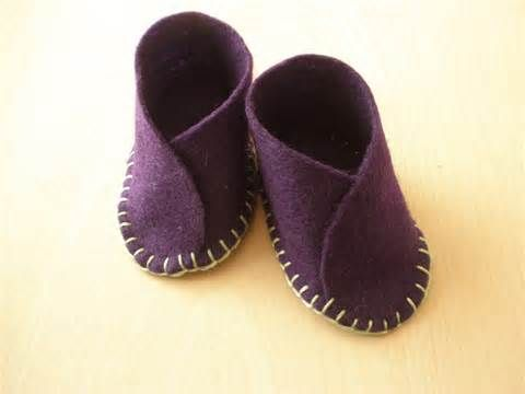 make felt baby shoes - Bing Images | Baby | Pinterest
