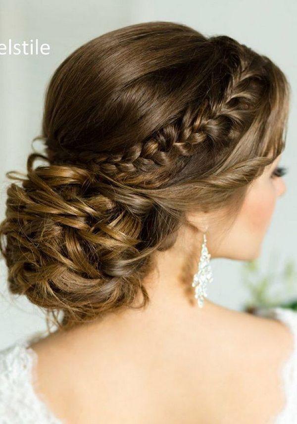 75 Chic Wedding Hair Updos For Elegant Brides Chongos Half Updo