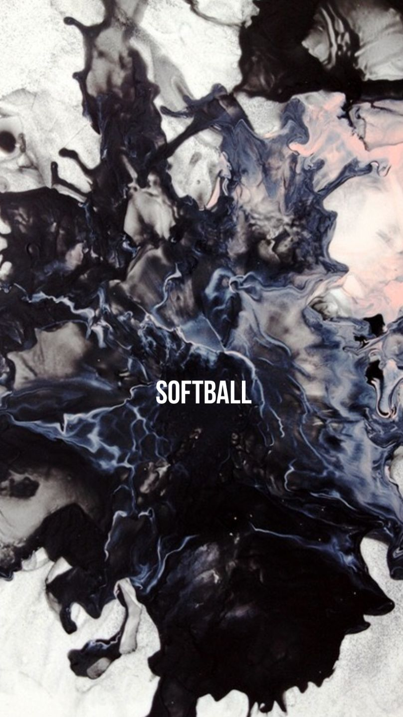 Softball Board Cover Abstract Art Painting Abstract Art