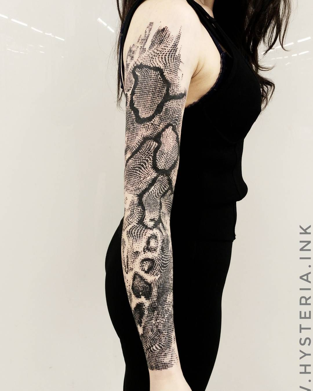 729819347 Pin Juno Morrow Tattoos Form & Technique Snake Skin Pattern Tribal