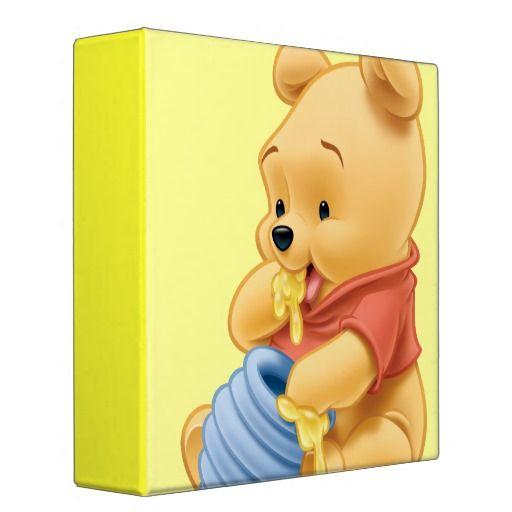 Baby Winnie The Pooh 1 Vinyl Binders