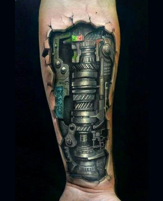 Robot arm | tattoo ideas | Pinterest | Robot arm, Tattoo ...