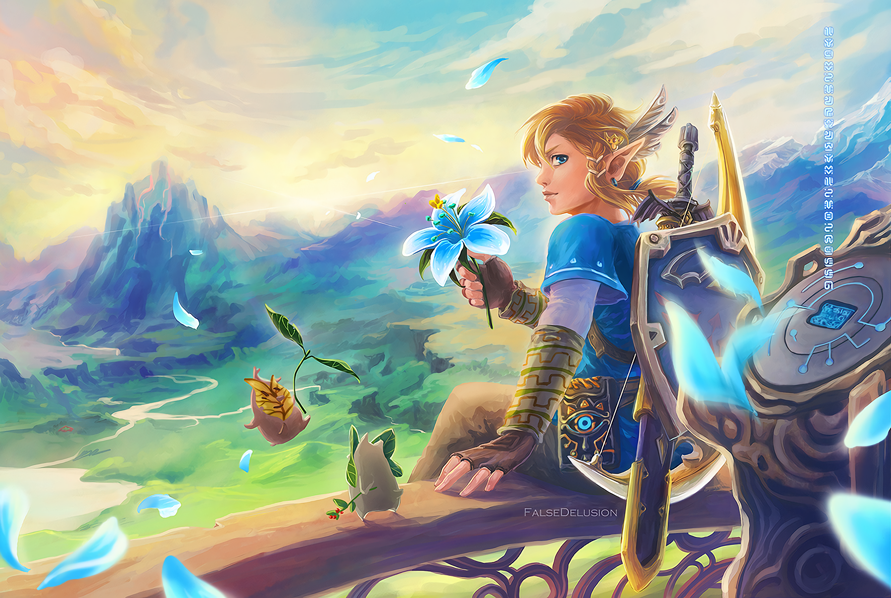 1800x1208 The Legend Of Zelda Breath Of The Wild Wallpaper
