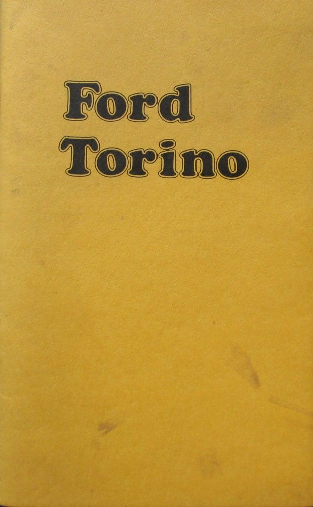 Ford Torino Owners Manual Via Obsolete Reliable Books Click On The Image To See More