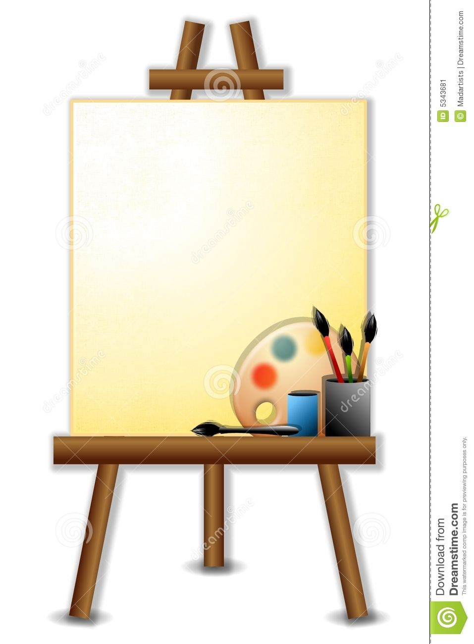 drawings of easels for painting images - - Yahoo Image Search ...